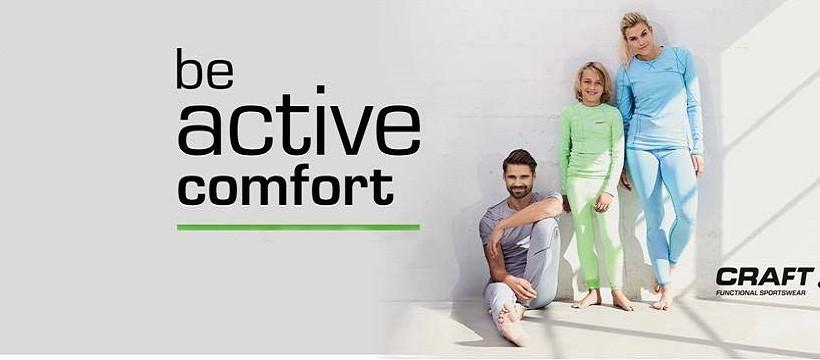 CRAFT als Pionier in Sachen Funktionswäsche schlechthin und zählt heute zu den weltweit führenden Marken im Bereich technischer Sportswear